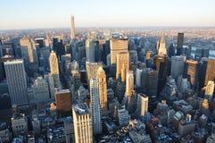 Nuovi Jork edifici di Manhattan Fotografia Stock Libera da Diritti