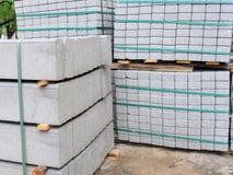 Nuovi mattoni della pavimentazione Fotografia Stock Libera da Diritti