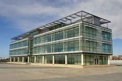 Nuovi uffici Fotografia Stock Libera da Diritti