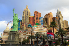 Nuovi York-nuovi casinò ed hotel di York a Vegas Immagine Stock Libera da Diritti