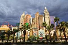 Nuovi York-nuovi casinò ed hotel di York a Vegas Fotografie Stock