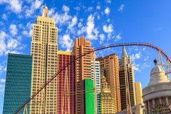 Nuovi York-nuovi casinò ed hotel di York a Vegas Immagini Stock