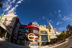 Nuovi York-nuovi casinò ed hotel di York a Vegas Immagini Stock Libere da Diritti