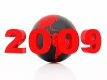 Nuovo 2009 anni Fotografia Stock