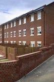Nuovo alloggio a terrazze Fotografia Stock Libera da Diritti