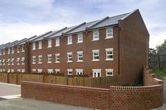Nuovo alloggio a terrazze Immagine Stock Libera da Diritti