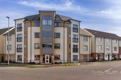 Nuovo alloggio urbano nel sud dell'Inghilterra Immagini Stock