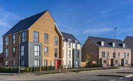 Nuovo alloggio urbano nel sud dell'Inghilterra Immagini Stock Libere da Diritti