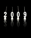 Nuovo anni 2009 - 2 Immagine Stock Libera da Diritti