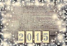 Nuovo 2015 anni Fotografie Stock