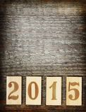 Nuovo 2015 anni Fotografia Stock