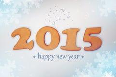 Nuovo 2015 anni felice Fotografia Stock Libera da Diritti