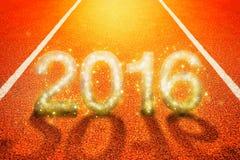 Nuovo 2016 anni felice Immagini Stock