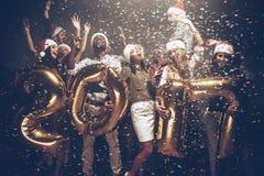 Nuovo 2017 anni felice! Fotografie Stock