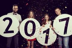 Nuovo 2017 anni felice Immagine Stock