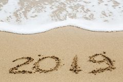 Nuovo anno 2019 Immagini Stock