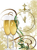 Nuovo anno. illustrazione vettoriale