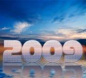 Nuovo anno 2009 Fotografia Stock Libera da Diritti