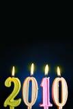 Nuovo anno 2010 Fotografia Stock