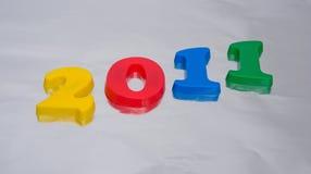 Nuovo anno 2011. Immagini Stock