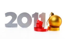 Nuovo anno 2011 Immagini Stock Libere da Diritti