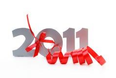 Nuovo anno 2011 Fotografie Stock