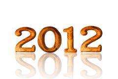 Nuovo anno 2012 Immagine Stock