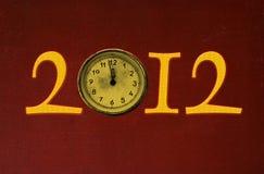 Nuovo anno 2012 Immagini Stock Libere da Diritti