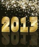 Nuovo anno 2013 Fotografie Stock