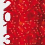 Nuovo anno 2013 Immagini Stock Libere da Diritti