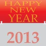 Nuovo anno 2013. Fotografie Stock