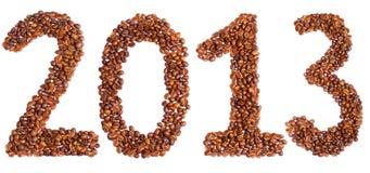 Nuovo anno 2013 Immagine Stock