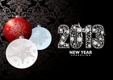 Nuovo anno 2013 di Natale Fotografia Stock Libera da Diritti