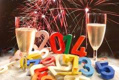 Nuovo anno Fotografie Stock Libere da Diritti