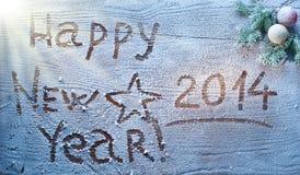 Nuovo anno 2014. Immagini Stock