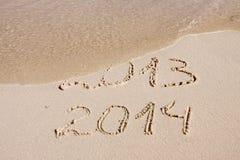 Nuovo anno 2014. Fotografie Stock Libere da Diritti