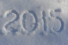 Nuovo anno 2015 Immagine Stock Libera da Diritti