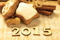 Nuovo anno Fotografie Stock