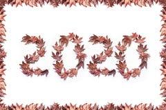 Nuovo anno 2020 Fotografia Stock Libera da Diritti