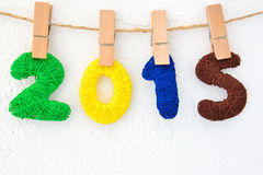 Nuovo anno 2015 Immagini Stock Libere da Diritti