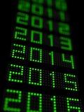Nuovo anno 2015 illustrazione di stock