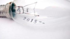 Nuovo anno 2015 Fotografie Stock