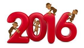 Nuovo anno Immagine Stock