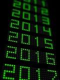 Nuovo anno 2016 illustrazione di stock