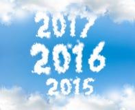 Nuovo anno 2016 Fotografie Stock