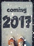 Nuovo anno 2017 Fotografia Stock