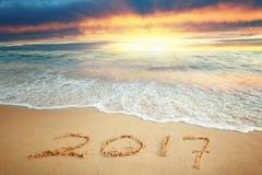 Nuovo anno 2017 Fotografia Stock Libera da Diritti