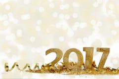 Nuovo anno 2017 Immagine Stock