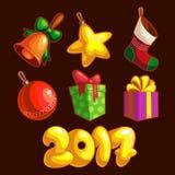 Nuovo anno Immagini Stock Libere da Diritti