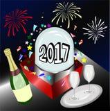 Nuovo anno Immagini Stock